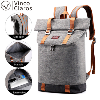 High Quality Men's Business Travel Backpacks Fashion 15.6 Inch Laptop Backpack for Men Waterproof Large Capacity School Backpack fashionable backpack for men pu waterproof backpack for high school students campus schoolbags large capacity computer
