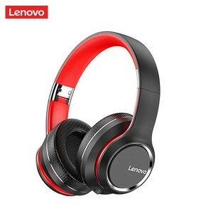 Image 1 - Lenovo Bluetooth,ワイヤレスコンピューター,ノイズキャンセル,hifi,ゲーム用の耳かけ型ヘッドセット