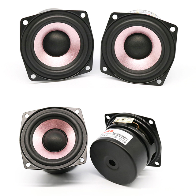 KYYSLB 20W 4 Ohm 8 Ohm 2.5 Inch Power Amplifier Speaker AS-25QF01 HIFI High Sensitivity Home Audio Full Frequency Speaker