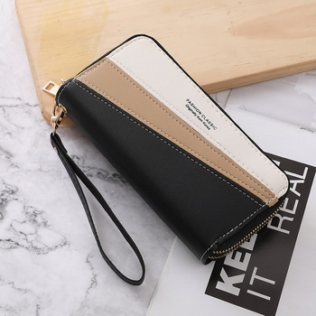 2020 Luxury Brand Leather Wallets Women Long Zipper Coin Purses Tassel Design Clutch Female Money Bag Credit Card Holder