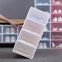 3 6 штук в партии Штабелируемый ящик Тип Обувная коробка стоит