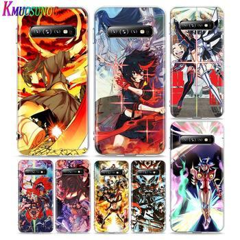 Cubierta transparente Anime matar a la A para Samsung Galaxy Nota 10 9 8 S20 Ultra S10 5G S9 S8 S7 PLus teléfono caso
