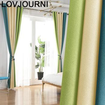 Rideau Gordijnen Blackout Kitchen Short Gardinen Tende Per Soggiorno Cortinas For Living Room Pour Le Salon Rideaux Curtains
