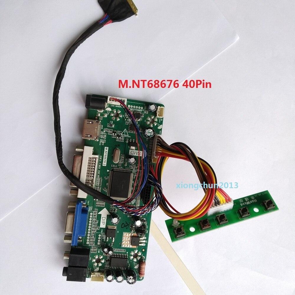 VGA HDMI USB Schermo LED LCD Scheda Driver Controller Kit per LP156WF4-SPL1 TV