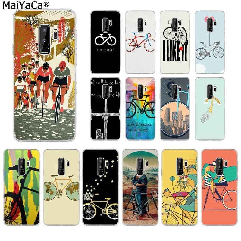 MaiYaCa BIKE CYCLING TPU Soft fundas Phone Case Cover for Samsung S10 S9 plus S6 edge plus S7 S7edge S8 S8plus S9 S10 plus
