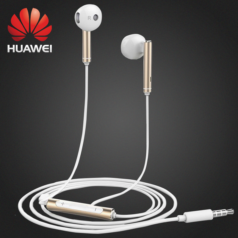 Original Huawei AM 116 Earphone with Mic Volume Control Speaker Metal headset for HUAWEI P7 P8 P9 Lite P10 Plus Honor 5X 6X Mate