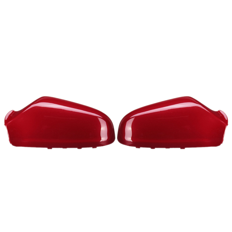 2Pcs Gloss Red Rearview Mirror Cover For Vauxhall Opel Astra 2005 2006 2007 2008 2009 13142000 13141999