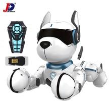 Jxda001программируемый Leidy RC собака инфракрасный пульт дистанционного управления умный робот собака Детские игрушки танцы Голосовая команда веселые рождественские подарки