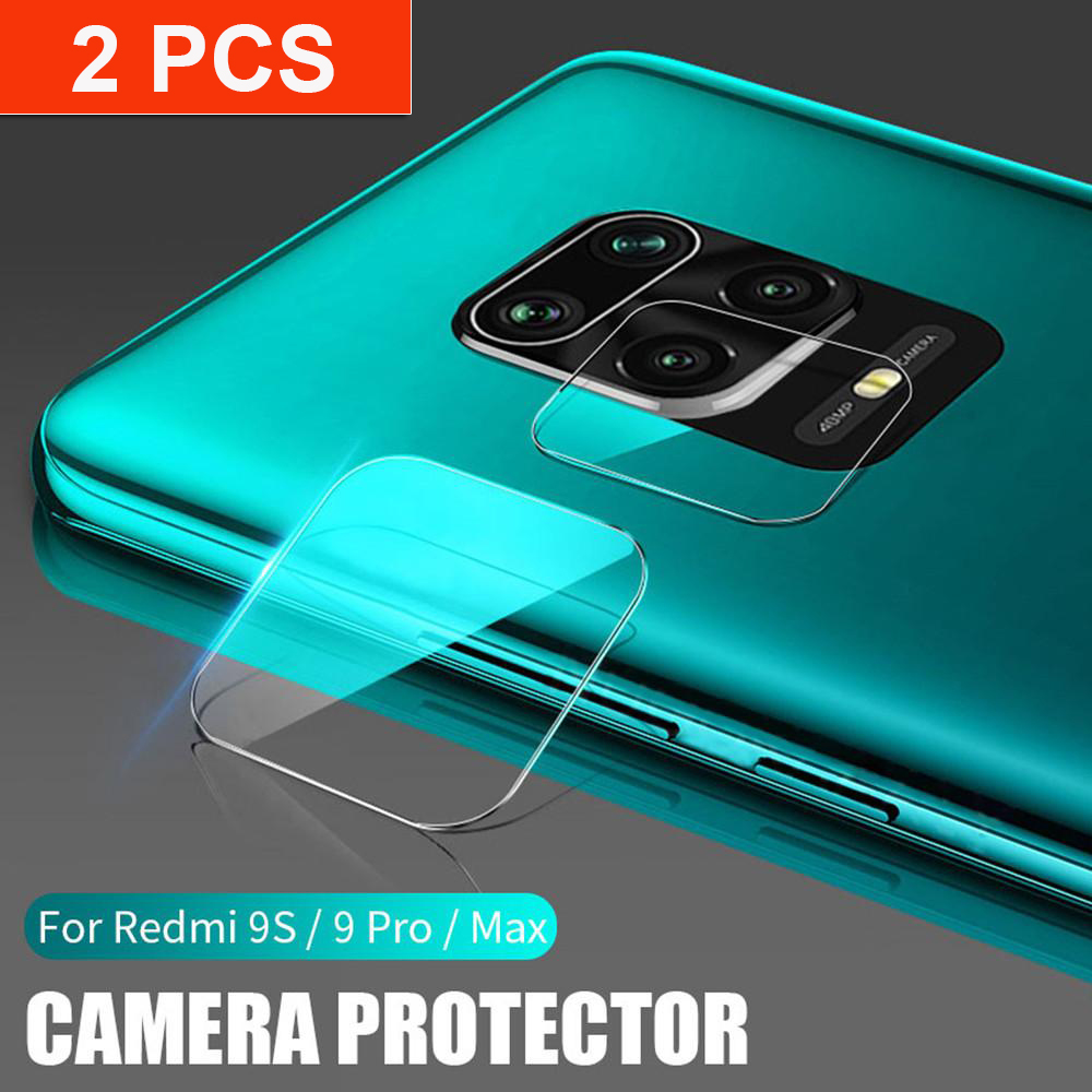 2 Pcs Back Camera Film For Xiaomi Redmi Note 9s 9 Pro Max Lens Protector Protective Glass On Redmi Note 8 Pro 8T 8A Note8 Note9
