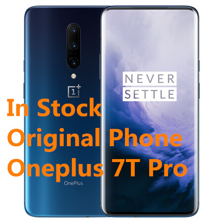 "New Original OnePlus 7T Pro Smartphone 6.67"" Snapdragon 855 Octa Core Plus 8G RAM 256G ROM 90HZ Android 10.0 30W Charge Phone