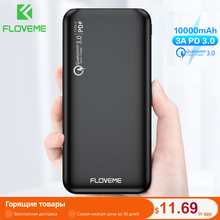 FLOVEME QC3.0 Power Bank 10000mAh Quick Charge 3.0 For Xiaom