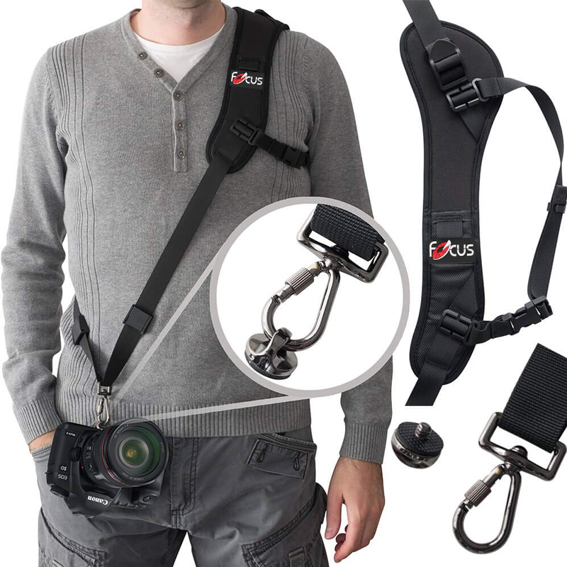 New F-1 Shoulder Camera Strap For DSLR Digital SLR Camera For Canon Nikon Sonys Quick Rapid Camera Accessories Neck Strap Belt