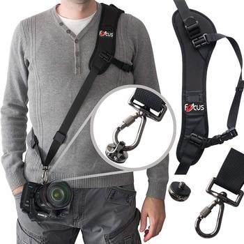 цена на New F-1 Shoulder Camera Strap for DSLR Digital SLR Camera For Canon Nikon Sonys Quick Rapid camera accessories Neck Strap Belt