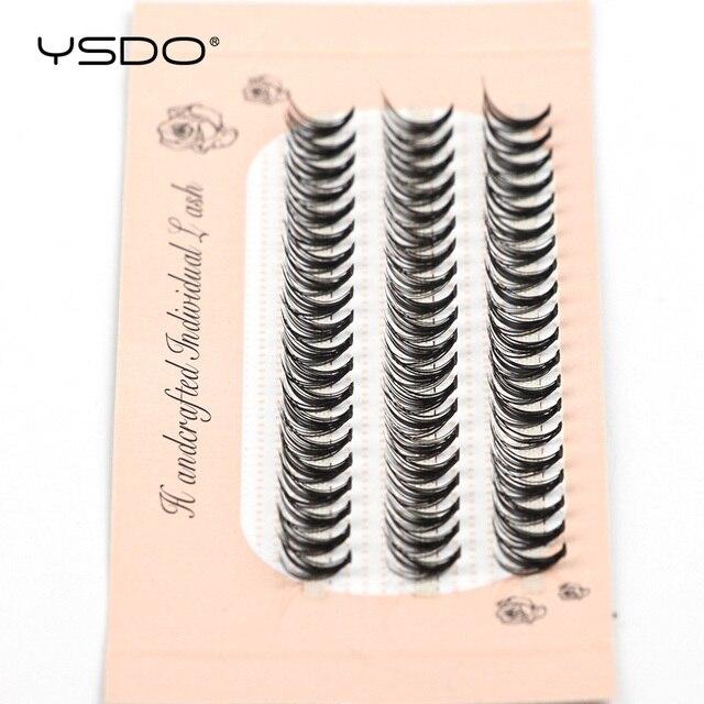 YSDO 60 Bundles Mink Eyelash Extension Natural Volume False Eyelashes Individual 10/20/30D Cluster Lashes Makeup Lashes Bunche 3