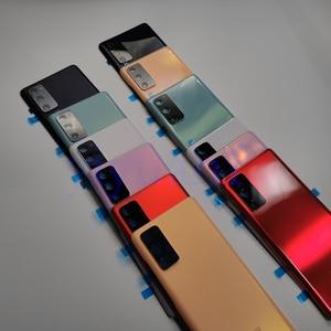 Image 2 - Hàng Chính Hãng Samsung Galaxy S20 FE 5G Pin Nhựa Nhà Ở Mặt Sau Ốp Lưng Thay Thế Cửa Hầm Đạn Phía Sau Keo Dán S20FE 4G