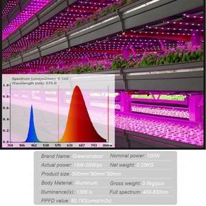 Image 3 - Светодиодсветильник лампа полного спектра для выращивания растений, 100 Вт