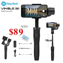 Feiyu Vimble 2S 3-Axis Handheld Gimbal Stabilizer for iPhone 11 Pro Xs Max XR X Smartphone Samsung Galaxy Note10/10+ S10 S9