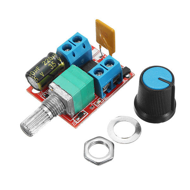 New 5V-30V DC PWM Speed Controller Mini Electrical Motor Control Switch LED Dimmer