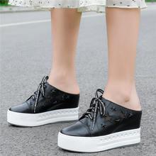 Летние кроссовки; женские сандалии гладиаторы из натуральной