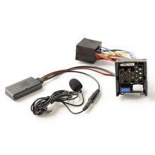 Novo bluetooth 5.0 música áudio adaptador microfone para bmw e46 3 series 2002-2006