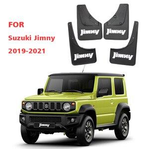 Image 3 - רכב Mudflaps עבור סוזוקי Jimny 2019 2020 2021 מגני בץ פגוש בוץ דש משמר Splash אביזרי אוטומטי Styline קדמי אחורי 4pcs