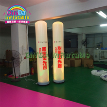 Commercial Event Decoration Color-Changing Inflatable Led Decoration Outdoor Lighting Inflatable Pillar With Led Light For Pub цена 2017