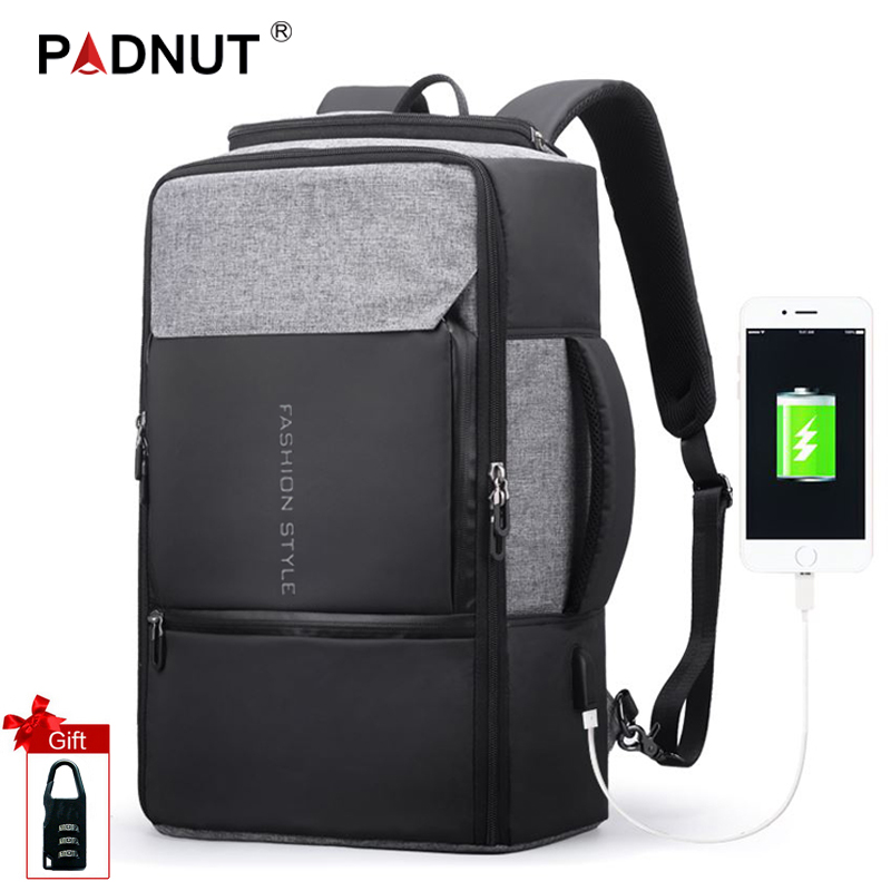 Anti Theft Backpack 17.3 Inch Men Laptop Backpack Travel Bag Mochila Anti-theft Bagpack USB Charger Male Back Pack School Bags