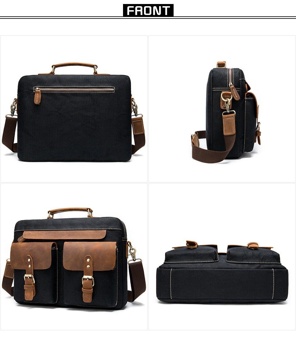 H90eec250d3964c678b709c9969b412bfR WESTAL Men Briefcases Men's Bag Genuine Leather Business Office Bags for Men Laptop Bag Leather Briefcases Male Lawyer Bags