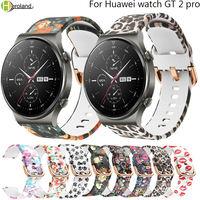 Cinturino 22mm per Huawei Watch GT 2 pro 46mm braccialetti intelligenti cinturino sportivo morbido cinturino in Silicone Correa traspirante