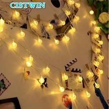 New 50 LED 10M Crystal Ball Solar Light Power Christmas Day String Fairy garland Garden Decoration Outdoor