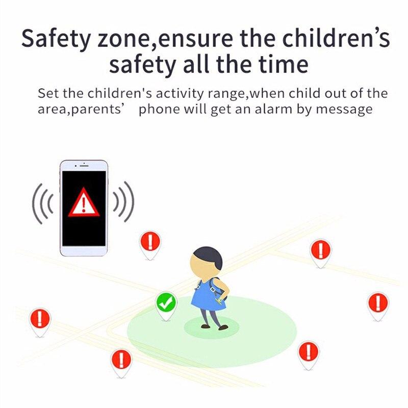 2020 enfants montre intelligente étanche bébé SOS positionnement 2G carte SIM Anti-perte Smartwatch enfants Tracker horloge intelligente appel montre 5