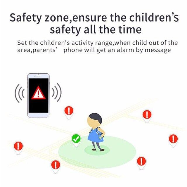 2021 kids smart watch Waterproof baby SOS Positioning 2G SIM Card Anti-lost Smartwatch children Tracker smart clock Call watch 5