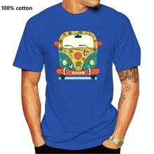 Hippie Van - Men'S Funny Premium T-Shirt Fitness Tee Shirt New Fashion Design For Men Women