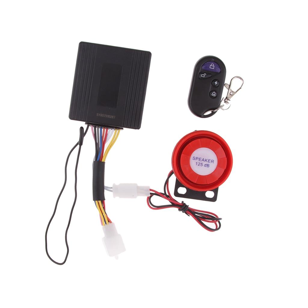 Remote Control Vibration Alarm Sensor Electronic Devices For Moto