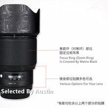 Película protectora de la piel para Sigma 105mm f1.4 montura EF, funda protectora antiarañazos