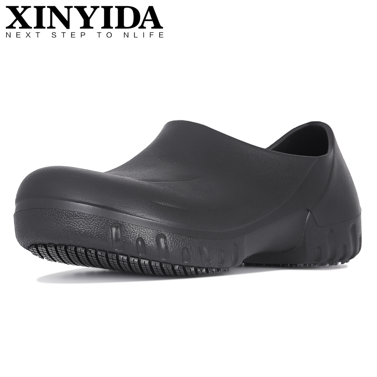 Hotel Kitchen Male Chef Shoes Non-slip Waterproof Oil-proof Working Shoes Breathable Resistant Cook Shoes Safety Clogs Slippers