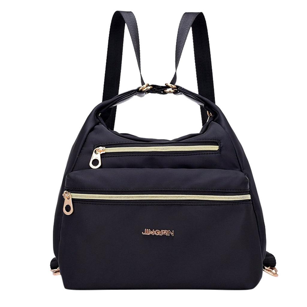 Multi-function Backpacks Women Large Capacity Waterproof Backpacks Single Shoulder Soft Handle  Cross Body Bags Totes Backpacks