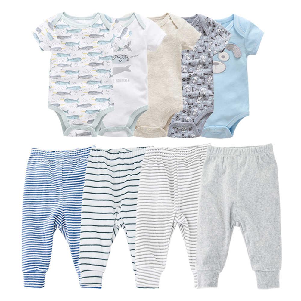 Kids Clothes 2020 Summer New Baby Boy Clothes Set Pants Bodysuits Ropa De Bebe Nena Baby Girl Pyjama Bebe Jumpsuits Overalls Clothing Sets Aliexpress
