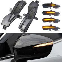 2 stück LED Licht Dynamische Blinker Seite Spiegel Blinker Anzeige Für Mazda CX 3 CX3 2016 2018 CX 4 CX 5 CX5 2016 2016,5