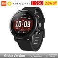 Huami Amazfit Stratos 2 Amazfit умные часы с gps PPG пульсометром 5ATM водонепроницаемые спортивные умные часы