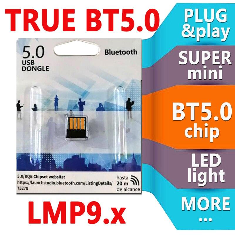 USB Bluetooth Adapter BT 5.0 Computer Wireless Dongles LMP9 Audio Receiver Transmitter Mini Adapters Laptop Earphone BLE Sender