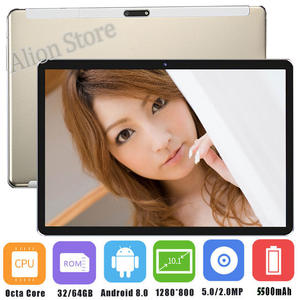 New Sales 4GB RAM Tablet Tempered Glass 2.5D 10 inch tablet PC Android 8.0 Octa core