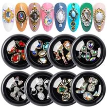 Nail Rhinestones Manicure-Accessories Jewelry Crystal Ab Nail-Art-Decorations Gems Shiny