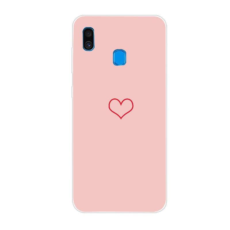 Silikon TPU telefon samsung kılıfı Galaxy A30 A50 A20 A40 A70 30 50 40 20 10 70 2019 kılıfları arka kapak coque Fundas