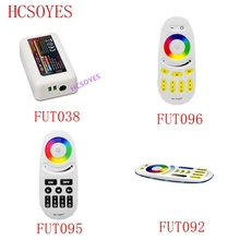 DC12 24V Mi Licht Drahtlose 10A 2,4G 4 Zone Wireless RF RGBW LED fern WIFI Controller Dimmer Für 5050 3528 Led Streifen Licht birne