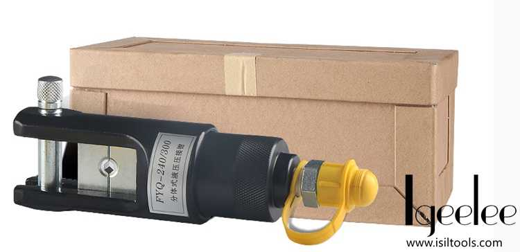 Гидравлическая ОБЖИМНАЯ головка 16-300 мм2, Φ/, головка гидравлической компрессии с насосом