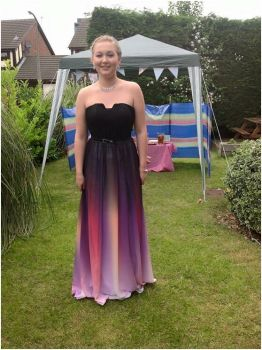 sexy cheap colours chiffon long prom Dresses 2016 new fashion real photos sashes pleat Special Occasion for weddings