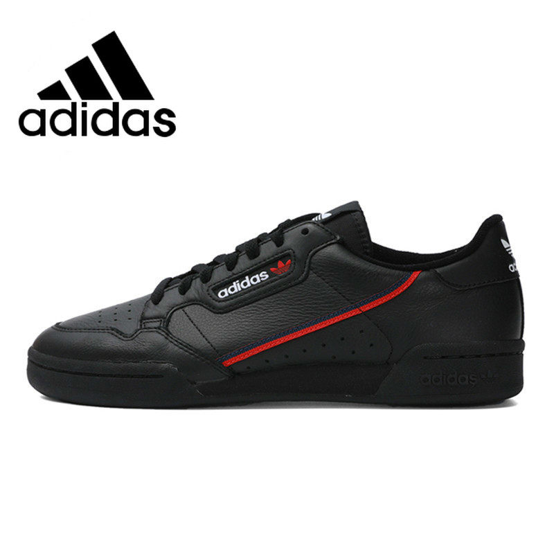 Original Authentic Adidas Continental 80 Rascal Classic Men's Skateboarding Shoes Black Lightweight Jogging Footwear B41672