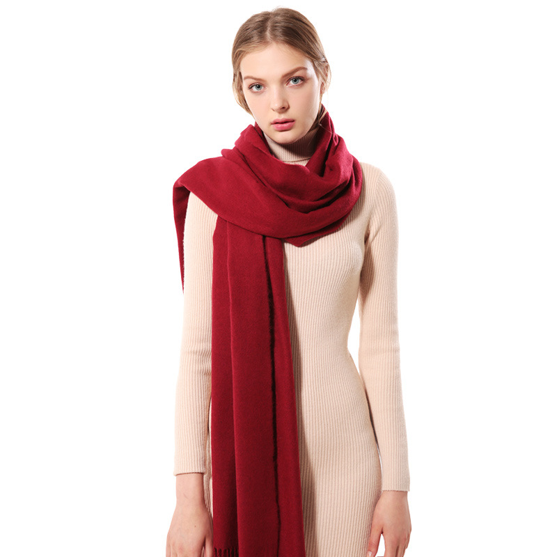 2019 Cashmere Women Scarf Warm Shawl Foulard Femme Pashmina Kerchief Wool Stole Head Neck Long Winter Scarf Women For Ladies