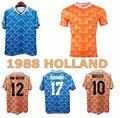 Ретро Camiseta Gullit 10 Мемориальный 1988 Van Basten 12